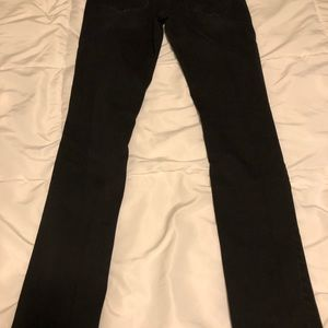 Maurices Pants - Maurices  SMALL REGULAR Jeggings BLACK w HOLES